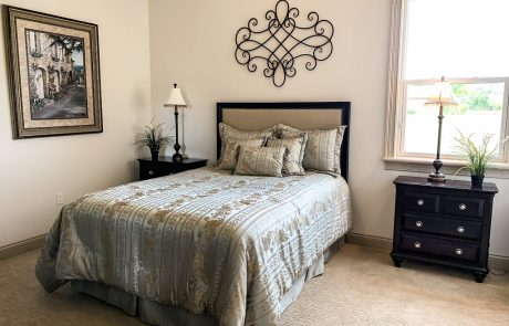 Skyway Builders guest bedroom