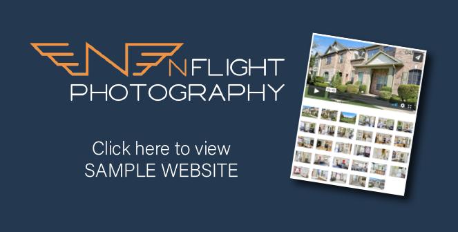 Sample website nFlight Photography