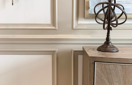 wood trim details